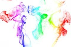Dymny kolorowy Zdjęcia Royalty Free