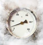 dymny termometr Fotografia Stock