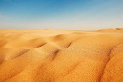 Dyn av sanden Royaltyfria Bilder