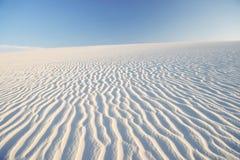 Dyn för sand för krusningseffekt Lencois Maranheses Brasilien arkivbilder