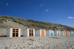 dyn för sand för strandhimmelsol Royaltyfri Fotografi