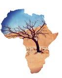 Dyn 45 i sossusvleien Namibia med det döda trädet Royaltyfri Fotografi