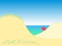 Dyn vid havet Arkivfoton