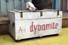 Dynamate-Kasten Stockfoto