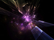 Dynamic Abstract Background Stock Image