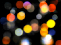 Dynamic Abstract Colorful Blurry Background Stock Photo