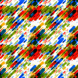 Dynamic Abstract Seamless Pattern Royalty Free Stock Image