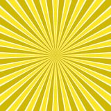 Dynamic abstract sun rays background - comic vector design from radial stripe pattern Royalty Free Stock Images