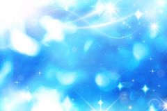 Dynamic background with bokeh, Royalty Free Stock Photo