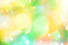 Dynamic background with bokeh, Royalty Free Stock Photography
