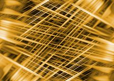 Dynamic black and gold lines background. Dynamic black and gold speed lines background Vector Illustration