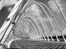 Construction of Calatrava. stock image