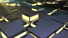 Dynamic block platform stock footage