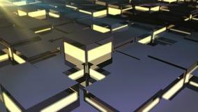 Dynamic block platform stock footage