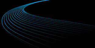 Dynamic blue waves. This is a dynamic blue waves Stock Images