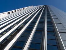 Dynamic business building in Frankfurt, Germany Royalty Free Stock Photos