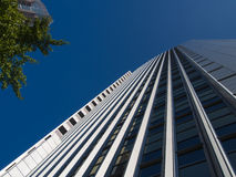Dynamic business building in Frankfurt, Germany Stock Photography