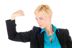 Dynamic business woman Stock Photos