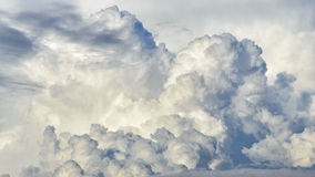 Dynamic cloudy sky Stock Photo