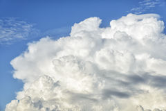 Dynamic cloudy sky Stock Photography