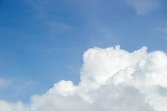 Dynamic cloudy sky Stock Photo