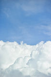 Dynamic cloudy sky Stock Image