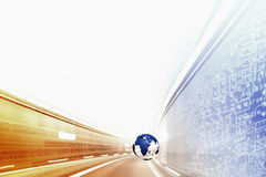 Highspeed internet BG Stock Photo
