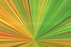 Dynamic colorful background. A dynamic colorful background of lines radiating outwards from a vanishing point royalty free illustration