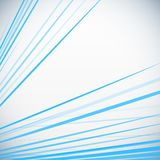 Dynamic colorful stripes. Blue Vector abstract Stock Photography