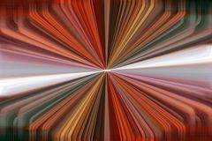 Dynamic converging lines background. Colourful orange dynamic converging lines background royalty free illustration