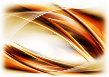 Dynamic fiery  motion. Abstract illustration of dynamic fiery wavy motion  on white background Royalty Free Stock Photo