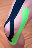 Dynamic functional bandage with taping Royalty Free Stock Photos