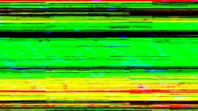 Dynamic glich video, bad tv signal of color display, 3d render computer generated background. Dynamic glich video, bad tv signal of color display, 3d rendering royalty free illustration