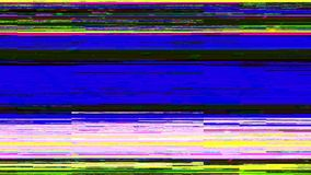 Dynamic glich video, bad tv signal of color display, 3d render computer generated background. Dynamic glich video, bad tv signal of color display, 3d rendering vector illustration