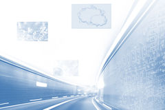 Highspeed internet BG Stock Image