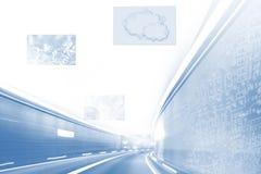Highspeed internet BG Stock Image