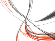 Dynamic Line Abstract royalty free illustration