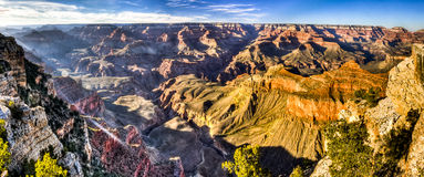 Dynamic Look at the Grand Canyon Royalty Free Stock Photography