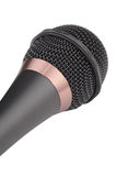 Dynamic microphone isolated Royalty Free Stock Images