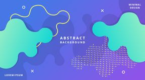 Dynamic Modern Fluid Style Background Liquid Shape. Suitable for poster, cover, banner, layout, wallpaper, flyer, presentation, landscape landing page vector illustration