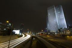 Dynamic Night Tel Aviv Royalty Free Stock Image