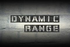 Dynamic range gr Royalty Free Stock Image