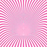 Dynamic ray burst background - vector illustration from swirling rays. Dynamic ray burst background - vector illustration from pink and white swirling rays Stock Photography