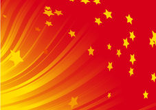Dynamic red background Royalty Free Stock Photos