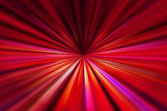 Red converging lines background. Dynamic red and purple converging lines background with selective focus stock illustration