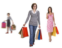 Dynamic shopping Royalty Free Stock Photography