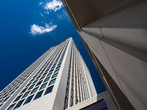 Dynamic skyscraper in Frankfurt, Germany Stock Photography