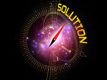 Dynamic Solution Stock Photo