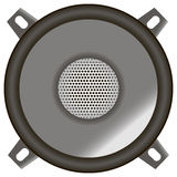 Dynamic sound device Stock Photo