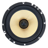 Dynamic speaker Stock Image